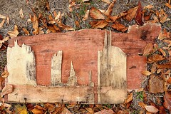 │‖⎟∣│∣‖⎟⎟ Skyline │ ∣│‖∣⎟⎟│ (Petra U.) Tags: karlsruhe ground wood skyline december wassoherumliegt