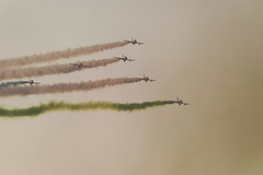 48th National Day, UAE, Air Show, Abu Dhabi Corniche, 2nd December, 2019. (Subrata_AD) Tags: light water shade lighting uae abudhabi show airshow amazing wow colour color blue yellow red speed plane beautiful aeroplane flight design art reflection photo photograph wonderful air fly pilot fighter mirage f16 jet fast furious