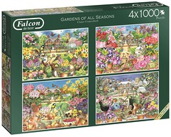"FALCON F ? 1000 4X1000 68X49CM  ART 11235 Gardens of All Seasons 1000, 1000, 1000 and 1000 piece jig Claire Comberford DELUXE (Andrew Reynolds transport view) Tags: jigsaw ""jigsaw puzzle"" picture pieces large difficult falcon hobby leisure pasttime f10004x100068x49cmart11235gardensofallseasons1000 1000 1000and1000piecejig{ar}clairecomberforddeluxe"