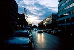 Evening clouds (mkk707) Tags: film 35mmfilm analog nikonosv nikkor35mm125 kodakektar100 wwwmeinfilmlabde vintagelens vintagefilmcamera clouds sunset reflections underwatercamera
