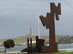 IMG_4570 (jesust793) Tags: coruña torre cielo hercules milenio escultura sculture
