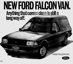 October1979No40 (mat78au) Tags: newspaper october melbourne 1979 extracts new ford falcon van xd gl panelvan advertisement oct vic 79 melb