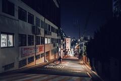 2155/1727'z (june1777) Tags: snap street alley seoul night light bokeh sony a7ii nikon nikkor 28mm f28 ais 28mmf28ais 8000 clear idae