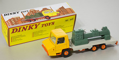 Atlas Dinky Toys 569P Berliet Stradair with Lathe and Box