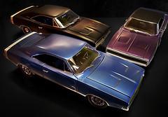 1968-70 Dodge Charger (Toytone) Tags: 118 1968 dodge charger 1969 1970 ertl authentics diecast model car