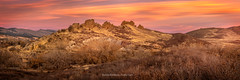 Panorama of Devils Backbone at Sunrise (RondaKimbrow) Tags: devilsbackbone loveland colorado sunrise openspace larimercounty rockformation hiking optoutside trails landscape coloradolandscape coloradoimages photography rondakmbrowphotography