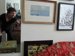 at home with art (lualba) Tags: luisafrancia art bilder pictures home zuhause bayern bavaria selfie