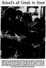 October1979No18 (mat78au) Tags: october 1979 melbourne newspaper extracts collingwoog education centre students oct 79 melb