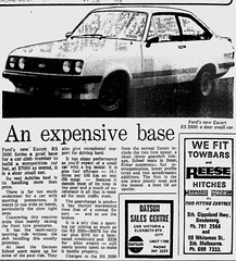 October1979No25 (mat78au) Tags: october 1979 melbourne newspaper extracts new ford escort rs 2000 79 article
