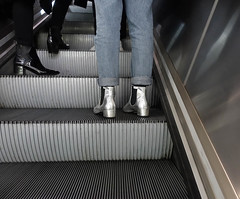 Silver boots (Allan Rostron) Tags: