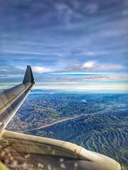E175  SEA-LAX JAN'19 (marcocaretta) Tags: americanair americanairlines americaneagle embraer embraerlovers e175 california usa usatrip us airplane snapseed landscape iphone iphonex
