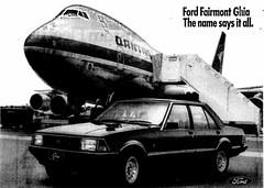 October1979No37 (mat78au) Tags: october 1979 melbourne newspaper extracts new ford xd fairmont ghia advertisement with qantas 747 200 oct 79