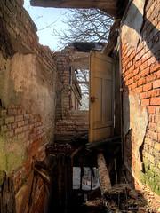 hanging by a thread (Urban Tomb Raider) Tags: urbex urbanexploration urbanexploring decay abandoned abandonedballroom urbexgermany urbandecay beautyofdecay derelict canon650d