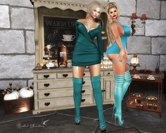 HOT CHOCOLATE AND HOT CHICKS (Rachel Swallows Inworld Elenamicheals Core) Tags: accessories aphordite cafe drinks fashion food homedecor kaithleens kitchen legacybody lv