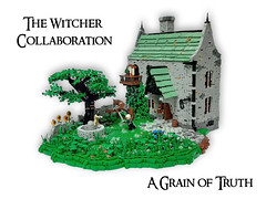 A Grain of Truth (BardJaskier) Tags: thewitchercollab thewitchercollaboration legowitcher lego witcher netflix sapkowski castle vampire monster beautyandthebeast zt zbudujmyto cdprcommunity