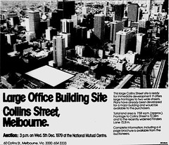 October1979No16 (mat78au) Tags: october 1979 melbourne newspaper extracts melb cbd aerial photograph oct 79