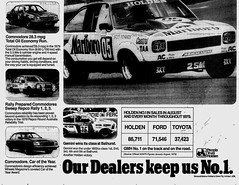 October1979No17 (mat78au) Tags: newspaper october melbourne 1979 extracts advertisement commodore vb holden jan aug sales figures 79 gmh