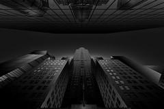 Dark chrysler (F&S Photos) Tags: bw black white blanco negro y monocromo monochrome fine art edificio building arquitectura architecture nikon nikkor light luz sombras shadows ny newyork chrysler manhattan