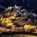 Tramonto d'inizio dicembre a Roccacaramanico