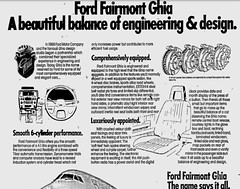 October1979No38 (mat78au) Tags: october 1979 melbourne newspaper extracts ford xd fairmont ghia advertisement oct 79 melb vic
