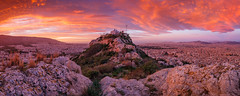 Athens. (milangondaphotography) Tags: europe mediterranean greece greek attica athens lycabettus landscape cityscape city metropolis capital morning sunrise park outdoors panorama panoramic