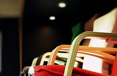 Objects Of Design : The Colorful Rest (Storyteller.....) Tags: colorful chair chairs wood wooden arms red green