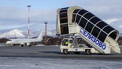 VP-BZG Ikar Embraer ERJ-190LR (Zhuravlev Nikita) Tags: uhpp pkc elizovo kamchatka spotting embaer emb190 e190 pegas pegasfly ikar