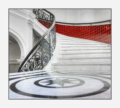 staircase (Körnchen59) Tags: staircase treppe geländer körnchen59 elke körnerr sony 6000 bremen