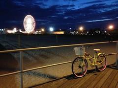 Boardwalk. Ocean City, NJ. (Eight-Stone Press) Tags: bicycle amusements ferriswheel jerseyshore ocnj newjersey oceancity boardwalk