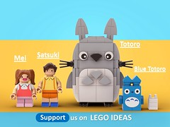 This will become a REAL Lego set with your help! Vote for it on Lego ideas! it's Free to vote :) Link below (legotruman) Tags: legoart lego afol moc legomoc legogram ghibli studioghibli totoro anime
