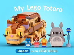 This will become a REAL Lego set with your help! Vote for it on Lego ideas! it's Free to vote :) Link below (legotruman) Tags: lego legomoc legofans legoart afol totoro ghibli studioghibli miyazaki anime legoideas