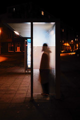 Climate change: Darth Vader has to take the bus, too. first walk with my new Fuji 16-80 F4 (Guido Klumpe) Tags: street city longexposure shadow color building silhouette architecture night contrast germany deutschland nightshot nacht outdoor candid perspective streetphotography hannover stadt architektur unposed hanover kontrast farbe schatten gebäude perspektive nachtaufnahme gegenlicht streetshot streetphotographer strase drausen streetphotographde