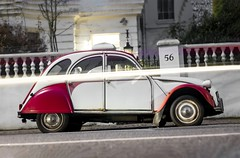2CV (Tom Mrazek) Tags: vintagelens vintagecars retro lightpainting 2cv cars streetphotography urbex carlovers oldcars