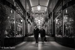 Arcade at Xmas (Scrufftie) Tags: streetphotography fuji mayfair photoshop fujifilmx70 london lightroom stjames