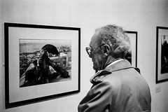 Considering Bresson (gwpics) Tags: exhibition england london haywardgallery people mono southbank archive uk streetphotography analog analogue editorial everydaylife film leica lifestyle monochrome person society unitedkingdom blackandwhite street streetlife