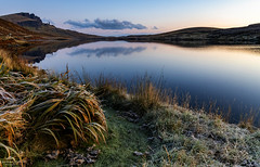 Nature paints the new day. (lawrencecornell25) Tags: waterscape lochfada oldmanofstorr scenery scotland skye scenic reflection dawn sunrise nature outdoors travel adventure nikond850 landscape