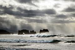 Stormy Sky (Gary Grossman) Tags: bandon oregon coast shore seastacks pacificnorthwest garygrossmanphotography garygrossman storm showers rain beach northwest seascape landscape