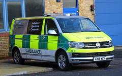 East Of England Ambulance - AY19 WCK (999 Response) Tags: eastofenglandambulanceservice eastofenglandambulance east of england ambulance service ambulanceoperationalcommander operational commander nhs volkswagen ay19wck 011