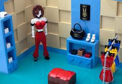 Clothing Boutique (vitreolum) Tags: lego vitreolum store boutique clothing