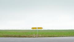 Berlin's Exurbs | Berliner Speckgürtel 5 (Bernd Walz) Tags: berlin´sexurbs speckgürtel rural countryside road transformedlandscape artificiallandscape newtopographics landuse brandenburg fineart landscape fog mist farmland minimalistic minimalism