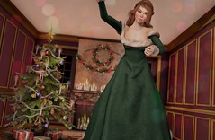 I'm a large absent minded Spirit! - The Ghost of Christmas Present (Saffron Foxclaw) Tags: secondlife secondlifeblog secondlifefashion secondlifeart christmas achristmascarol ghostofchristmaspresent izzies elikatira justbecause uber mudhoney jian laq cheekypea
