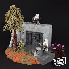 "[DARK TIMES RPG] PLANET KALLER ""Bunker ambush"" (Luca s projects) Tags: dark times lsp rpg lego moc star wars clone storm trooper darktimes"