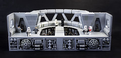 Star Destroyer Bridge (Jonathan_S.) Tags: lego legomoc legostardestroyer legostardestroyerbridge legostarwars legoempire legospace starwars bridge empire