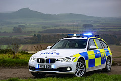 NK19 EOW (S11 AUN) Tags: cleveland police bmw 330d 3series touring anpr traffic car roads policing rpu 999 emergency vehicle nk19eow