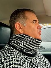 Black and White Striped Turtleneck Tuesday (jeremyv3) Tags: wool stripes knit jumper turtleneck turtlenecksweater rollneck rollkragen fall style fallfashion
