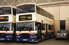 Dublin Bus RV418 (98D20418). (Fred Dean Jnr) Tags: s61ywc busathacliath bus dublinbus donnybrook volvo olympian alexander rh rv418 98d20418 donnybrookgaragedublin january2003 dbrook dublinbusbluecreamlivery dublin