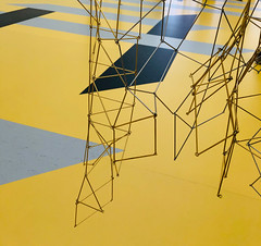 Leonor Antunes (Rosmarie Voegtli) Tags: art kunst leonorantunes resonatingspaces fondationbeyeler riehen schweiz switzerland suisse svizzera space