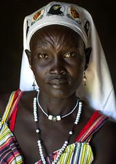 Mundari tribe nun, South Sudan (Eric Lafforgue) Tags: équatoriacentral soudandusud mundari nun christian africa afrique religion religious scarifications