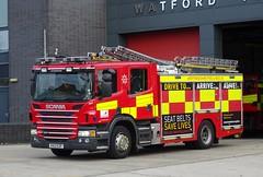 Reserve - 9743 - KX13 EZP (999 Response) Tags: hertfordshire fire rescue service hertfordshirefirerescueservice hertfordshirefirerescue reserve 9743 kx13ezp