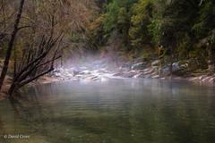 Mist Rises on the Middle Fork (buffdawgus) Tags: california 50mm landscape canon5dmarkiii sierranevadafoothills autumn mist lightroom6 yubariver topazstudio canon50mm18 fall nevadacounty yubarivermiddlefork